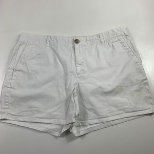 3FOR$20 Dockers White shorts size: 16